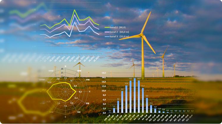 Analizy wietrzności i wydajności energetycznej