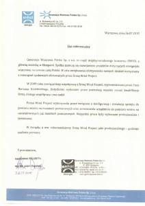 thumbnail of Referencje_Generacja Wiatrowa Polska Sp. z o.o